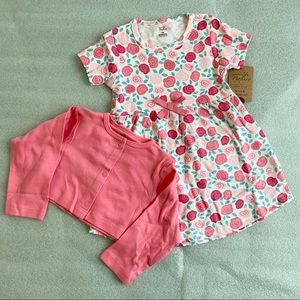 Rosie Dress & Cardigan Set/18mo